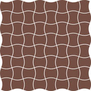 Modernizm Brown Mozaika Prasowana K.3,6X4,4  30,86x30,86 Modernizm 30,9 x 30,9 cm