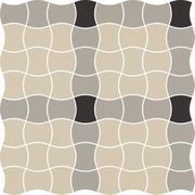 Modernizm Grys Mozaika Prasowana K.3,6X4,4 Mix A 30,86x30,86 Modernizm 30,9 x 30,9 cm