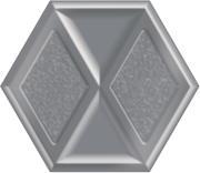 Morning Silver Heksagon Inserto Połysk 19,8x17,1 Morning 19,8 x 17,1 cm