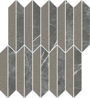 Noisy Whisper Graphite Mozaika Cięta Mix Mat 27,4x29,8 Noisy Whisper 29,8 x 27,4 cm