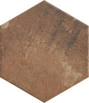 Scandiano Rosso Heksagon 26x26 Scandiano 26 x 26 cm