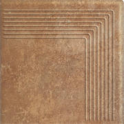 Scandiano Rosso Stopnica Narożna 30x30 Scandiano 30 x 30 cm