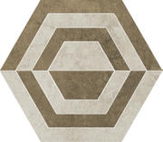 Scratch Beige Heksagon A Mat. 26x29,8 Scratch 26 x 29,8 cm