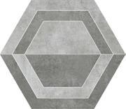Scratch Grys Heksagon B Mat. 26x29,8 Scratch 26 x 29,8 cm