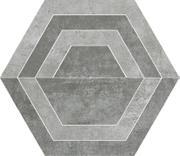 Scratch Grys Heksagon C Mat. 26x29,8 Scratch 26 x 29,8 cm
