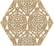 Shiny Lines Gold Heksagon Inserto A 19,8x17,1 Shiny Lines 19,8 x 17,1 cm