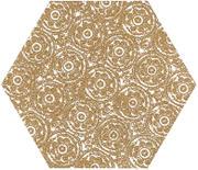 Shiny Lines Gold Heksagon Inserto F 19,8x17,1 Shiny Lines 19,8 x 17,1 cm