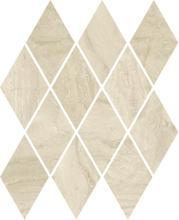 Silence Beige Mozaika Prasowana Romb Pillow Mat 20,6x23,7 Silence 20,6 x 23,7 cm