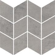 Space Grafit Mozaika Cięta Romb Braid Poler 20,5x23,8 Space 20,5 x 23,8 cm