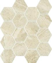 Sunlight Stone Beige Mozaika Prasowana Hexagon 22x25,5 Sunlight / Sun 22 x 25,5 cm