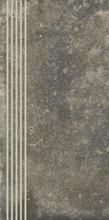 Trakt Grafit Stopnica Prosta Nacinana Mat. 29,8x59,8 Trakt 29,8 x 59,8 cm