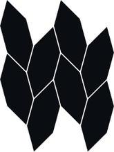 Uniwersalna Mozaika Nero Paradyż Torton 22,3x29,8 29,8 x 22,3 cm