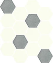 Uniwersalna Mozaika Prasowana Bianco Paradyż Hexagon Mix 22x25,5 22 x 25,5 cm