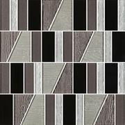 Uniwersalna Mozaika Szklana Nero Paradyż Tiffany Mix 29,8x29,8 29,8 x 29,8 cm