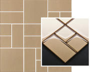 Uniwersalna Mozaika Szklana Paradyż Gold Mix 29,8x29,8 Uniwersalne mozaiki 29,8 x 29,8 cm