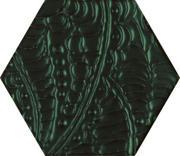 Urban Colours Green Inserto Szklane Heksagon 19,8x17,1 Urban Colours 19,8 x 17,1 cm