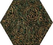 Urban Colours Green Inserto Szklane Heksagon A 19,8x17,1 Urban Colours 19,8 x 17,1 cm