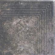 Viano Antracite Stopnica Narożna 30x30 Viano 30 x 30 cm