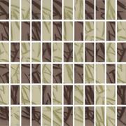 Bambus Brown/verde Mozaika Prasowana Mix K.2,3X4,8 29,8x29,8 29,8 x 29,8 cm
