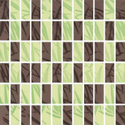 Bambus Brown/zefir Mozaika Prasowana Mix K.2,3X4,8 29,8x29,8 29,8 x 29,8 cm