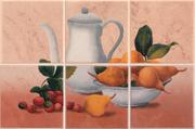 Gloria Rosa Panel 10X10x6 20 x 30 cm