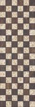 Miriam Brown Inserto Mozaika 20x60 Miriam/Mirio 20 x 60 cm