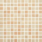 Penelopa Beige/brown Mozaika Prasowana K.2,3X2,3 29,8x29,8 Penelopa 29,8 x 29,8 cm