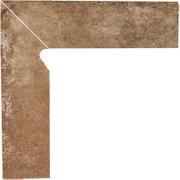Scandiano Rosso Cokół 2 El.-Lewy 8,1x30 Scandiano 8,1 x 30 cm