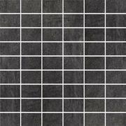 Taranto Grafit Mozaika Cięta Półpoler 29,8x29,8 Taranto 29,8 x 29,8 cm