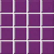Uniwersalna Mozaika Szklana Purpura 9,8x9,8 9,8 x 9,8 cm
