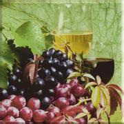 Uniwersalne Inserto Szklane Winogrona 20x20 Dekoracje szklane 20 x 20 cm
